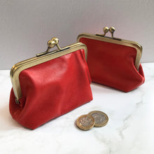 Load image into Gallery viewer, Corail Leather Card Purse