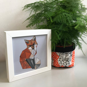 Mini Framed Fox