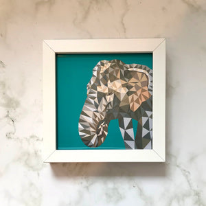 Mini Framed Elephant