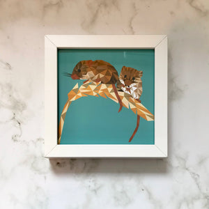 Mini Framed Field Mice