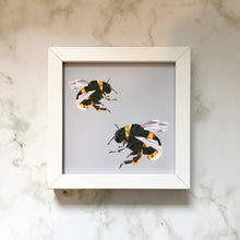 Load image into Gallery viewer, Mini Framed Bees