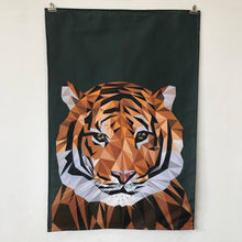 Load image into Gallery viewer, Tiger Tea Towel