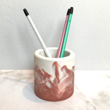 Load image into Gallery viewer, Dusky Pink Jesmonite Pot