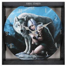 Load image into Gallery viewer, Protector Wolf Wall Clock