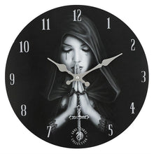 Load image into Gallery viewer, Gothic Prayer Wall Clock