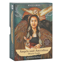 Load image into Gallery viewer, Angels and Ancestors Oracle Cards by Kyle Gray