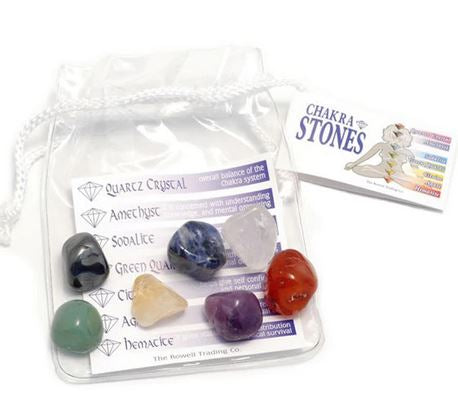 Chakra Stones Pouch