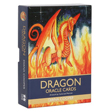 Load image into Gallery viewer, Dragon Oracle Cards by Diana Cooper