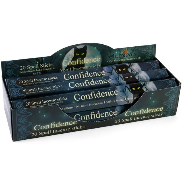 Confidence Spell Incense Sticks