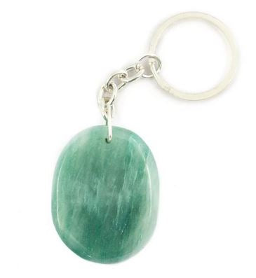Crystal Key Ring - Green Aventurine