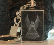 Load image into Gallery viewer, Guardian Angel Keyring
