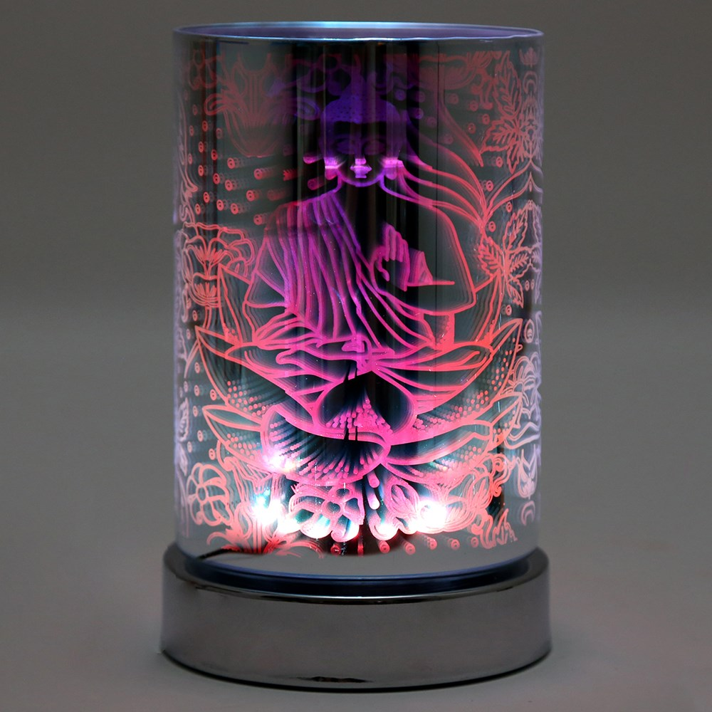 Buddha LED Oil Burner Lamp