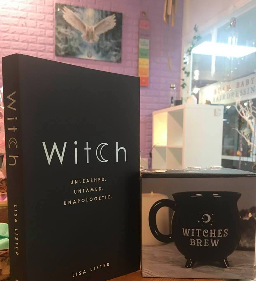 'Witch' book and Witches Brew Mug Gift Set