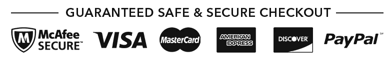 Safe & Secure Checkout