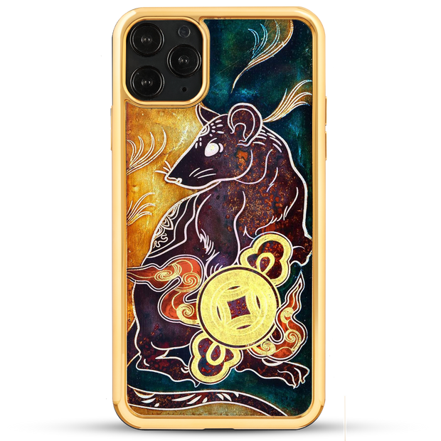 Prosperity Golden Rat - iPhone 11 Series & Earlier