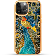 iPhone Case - Peacock Goddess