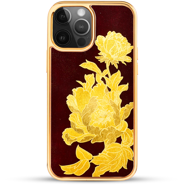 iPhone Case - Golden Peony