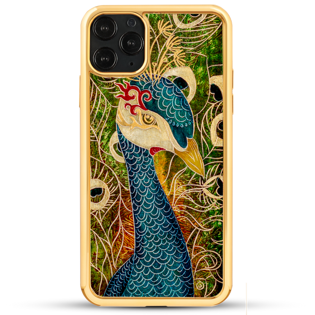 Peacock Goddess - iPhone 11 Series & Earlier