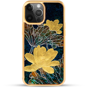 iPhone Case - Golden Lotus In Jade Well