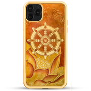 Golden Dharma Chakra - iPhone 11 Series & Earlier