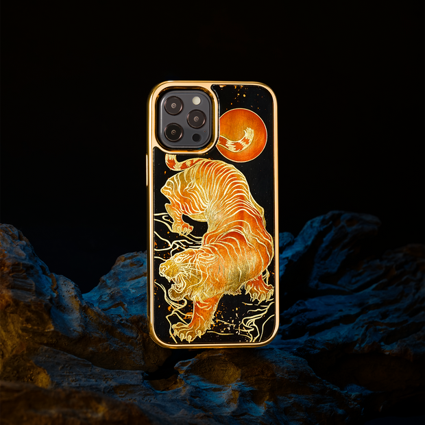 iPhone Case - Tiger in the Moonlight