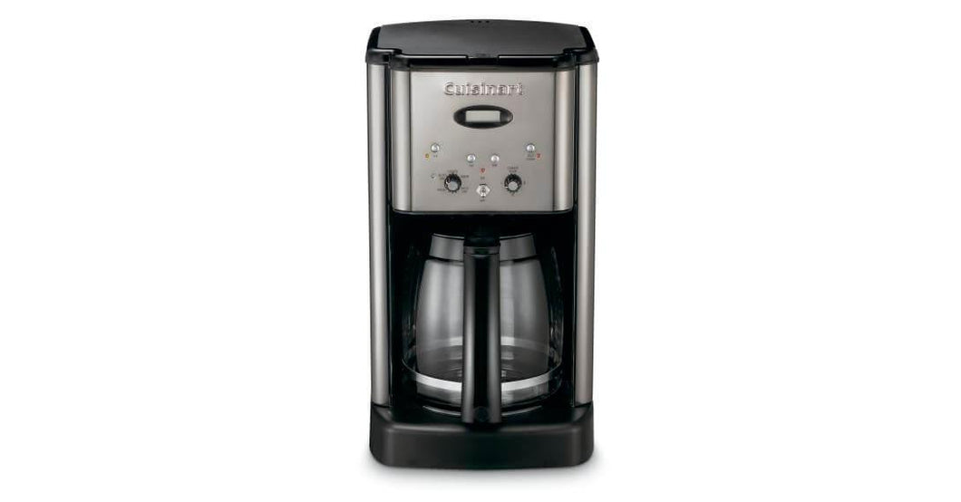 COFFEE MAKER 12, S/S & BLACK