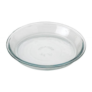 "9"" GLASS PIE DISH"