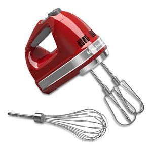 7 SPEED HAND MIXER RED