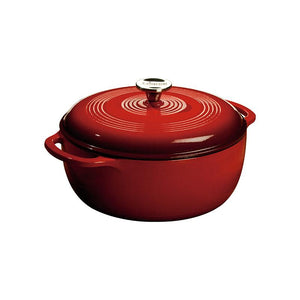 6 QT DUTCH OVEN RED