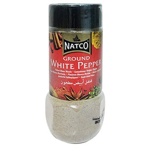 Natco - White Pepper Ground Jar - 100g