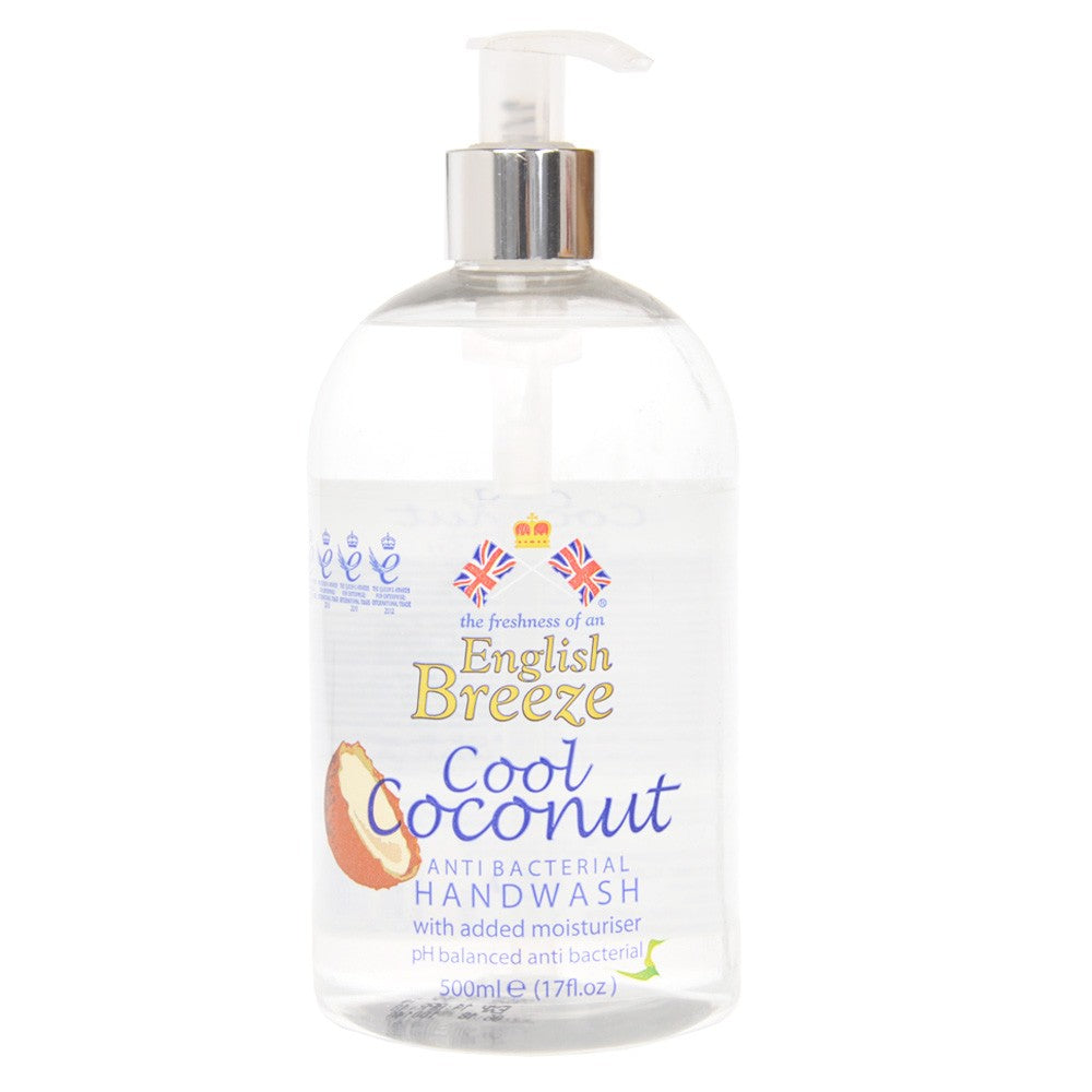 English Breeze - Hand Wash - Cool Coconut - 500ml