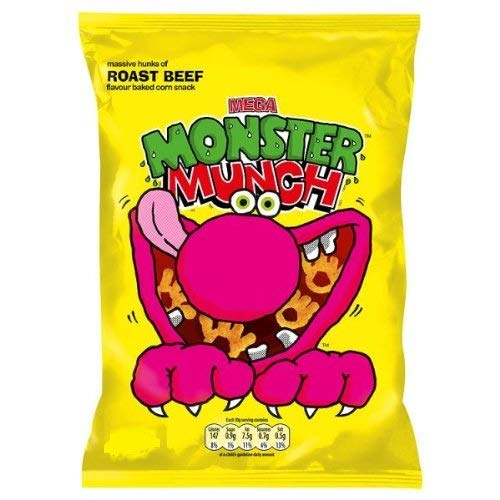Walkers - Monster Munch - Roast Beef - 40g