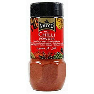 Natco - Chillli Hot Powder Jar - 100g
