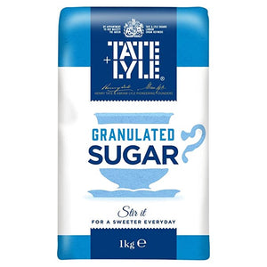 Tate Lyle - Sugar Granulated - 1KG