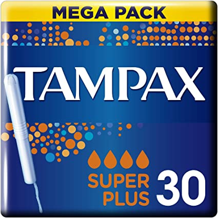 Tampax - Mega Pack - Super Plus - 30pcs