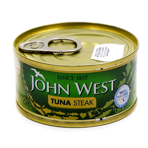 John West - Tuna steak in sunflower oil - Tin - 160g