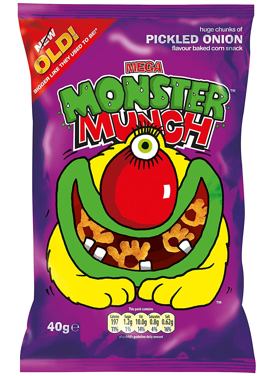 Walkers - Monster Munch - Pickled Onion - 40g