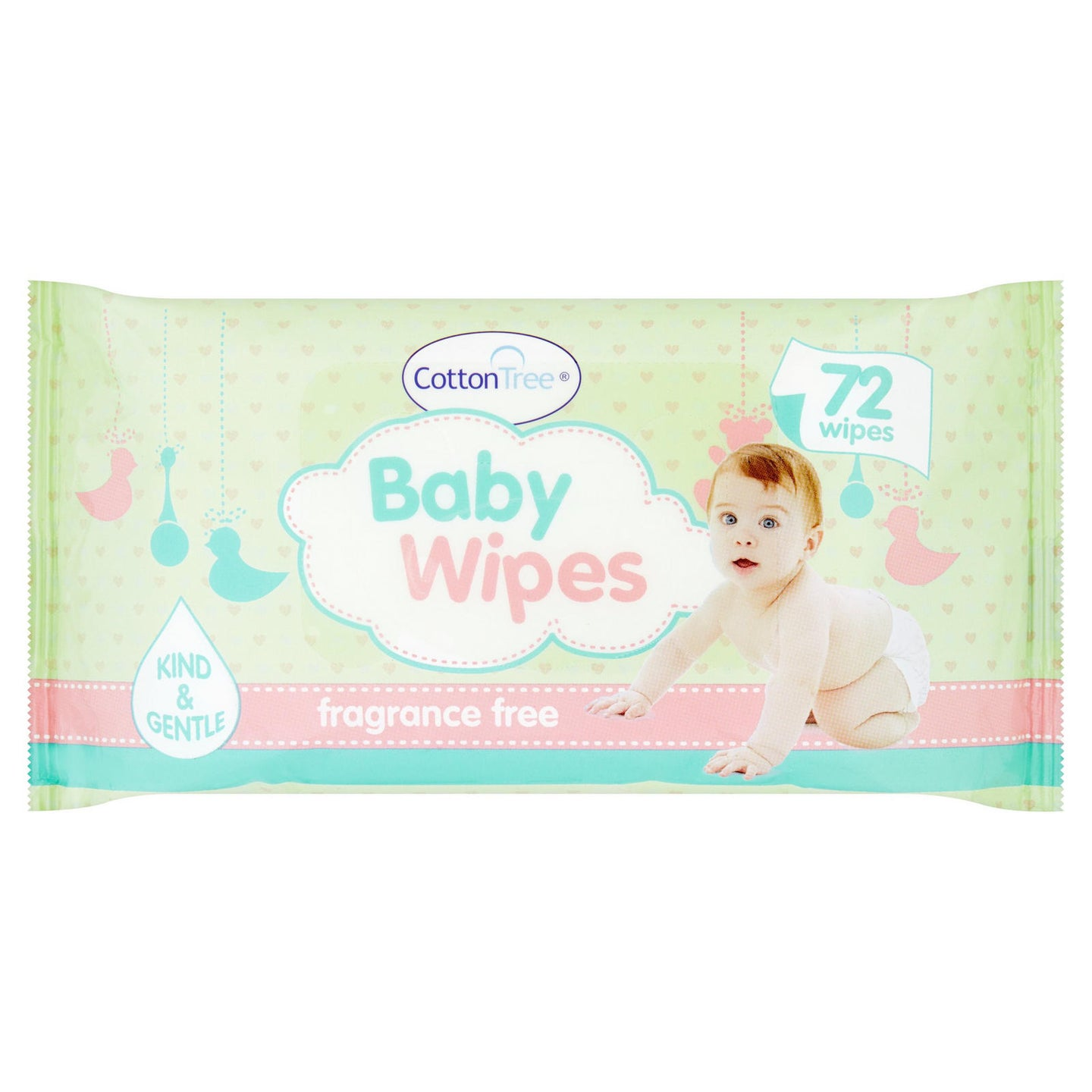 Cotton Tree - Baby Wipes - 72s