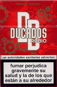 Ducados Rubio - Packet 20's