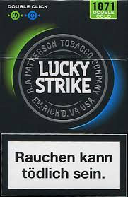 Lucky Strike Double Click Cold - Packet 20's