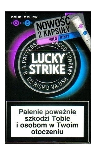 Lucky Strike Redberry - Packet 20's