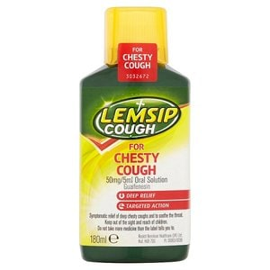Lemsip Cough for Chesty Cough - 180ml