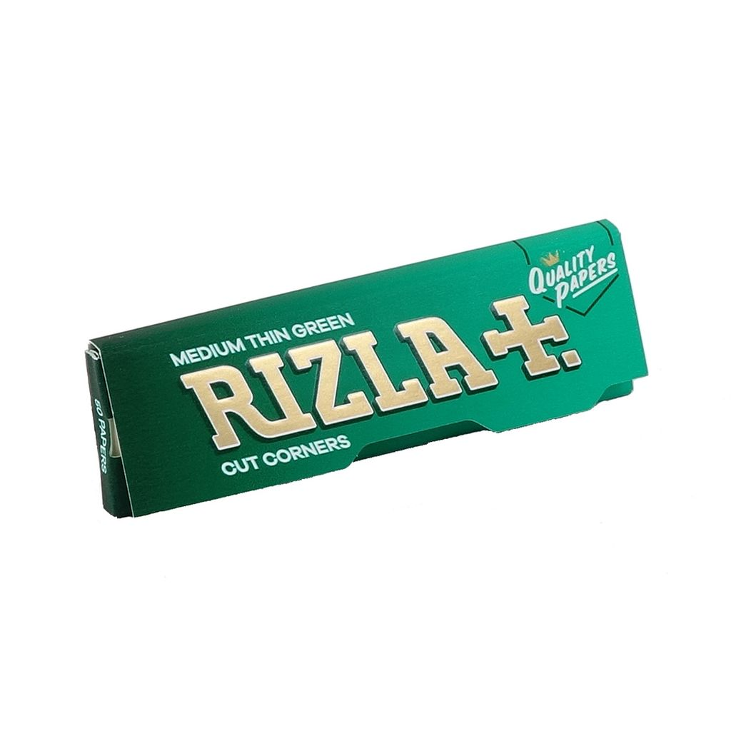 Rizla - Thin Green Small Papers - 50 pcs