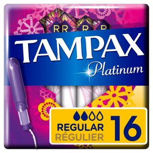 Tampax - Platinum - Regular - 16pcs