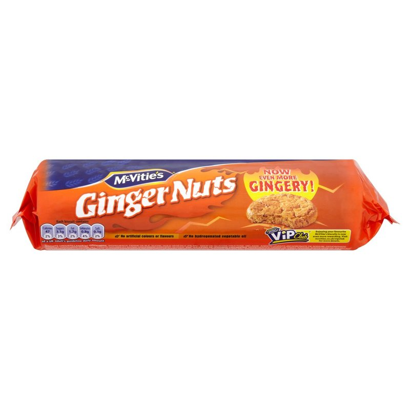 McVities - Ginger Nuts - 200g
