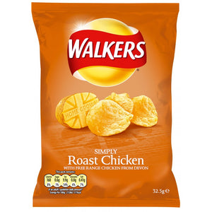 Walkers - Roast Chicken - 32.5g