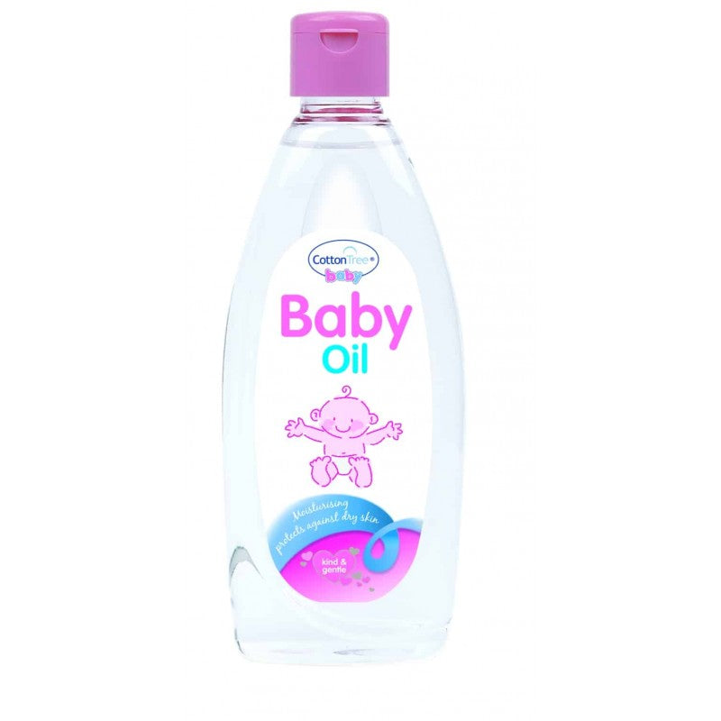 Cotton Tree - Baby oil - 355ml