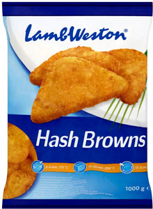 Lamb Weston - Triangle hash browns - 1Kg