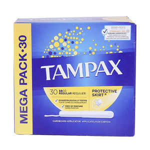 Tampax - Mega Pack - Regular - 30pcs