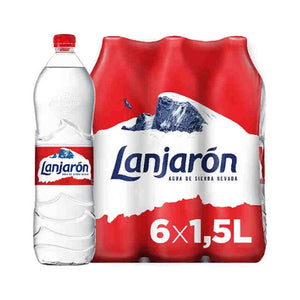 Lanjaron Water - Bottle - 6 X 1.5L [PACK]